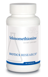 Selenomethionine By Biotics Research Corporation  90 Capsules