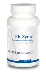 Rb-Zyme (Rubidum) by Biotics Research Corporation 100 Tablets