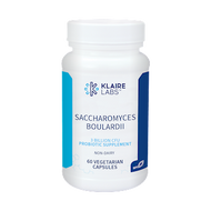 Saccharomyces Boulardii  By Klaire Labs 60 vegcap