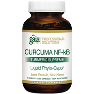 Turmeric Supreme Extra Strength By Gaia Herbs (Professional Solutions) 120 Capsules