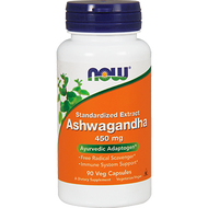 Ashwagandha 450 mg By NOW  90 vegcaps