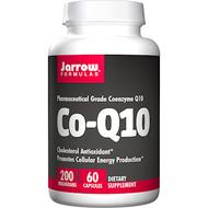 Co-Q10 200 mg By Jarrow Formulas  60 caps