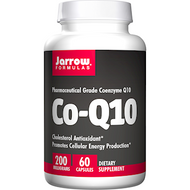 Co-Q10 200 mg By Jarrow Formulas  60 caps