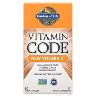 Vitamin Code Raw Vitamin C By Garden of Life  60 vcaps