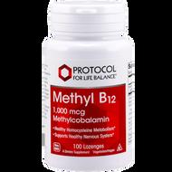 Methyl B12 1000 mcg by Protocol for Life Balance 100 lozenges