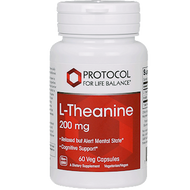 L-Theanine 200 mg by Protocol for Life Balance 60 vcaps