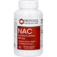 NAC 600 mg by Protocol for Life Balance 100 caps