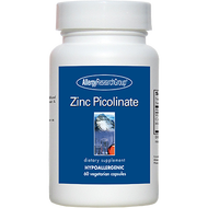 An image of a bottle of Zinc Picolinate zinc capsules from Clinical Nutrition Centers