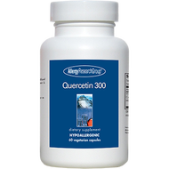 Image of a bottle of Quercetin health food supplement from Clinical Nutrition Centers