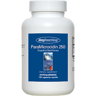 Image of bottle of Paramicrocidin body supplements from Clinical Nutrition Centers