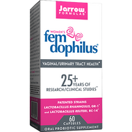 Image of a box of FemDophilus women's health supplements from Clinical Nutrition Centers