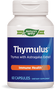 An image of the front of the Thymulus immune system support bottle.
