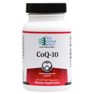 CoQ-10 100 mg by Ortho Molecular 60 softgel capsules