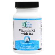 Vitamin K2 with D3 60 Count by Ortho Molecular