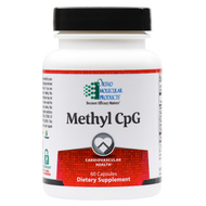 Methyl CpG 60 capsules by Ortho Molecular