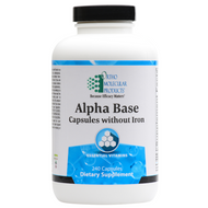 Alpha Base Capsules without Iron 240 capsules by Ortho Molecular