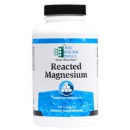 Reacted Magnesium 180 capsules by Ortho Molecular