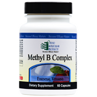 Methyl B Complex 60 capsules by Ortho Molecular