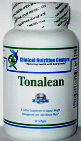 Tonalean by Clinical Nutrition Centers  90 Softgels  Contains Tonalin® brand CLA 1000mg  CNC's Tonalean is made by the same manufacturer (DaVinci Labs) and is the same product as Nutritional Frontiers Tonalean, but when you purchase Clinical Nutrition Centers Tonalean, CNC provides an important discount and savings to you for the same product, same formulation,   Benefits:  €¢A dietary supplement to support weight management and healthy cortisol function.* €¢Maintaining Blood Glucose And Cholesterol Levels Within Normal Ranges €¢Weight Management €¢Energy and improved muscle mass for Weight Lifters & Body Builders  Tonalin® CLA is completely natural and does not contain any stimulants or artificial ingredients.  CLA reduces body fat and tones muscles by decreasing the ability of the body to store fat. Existing fat cells shrink and new fat cells are prevented from forming. In addition, Tonalin® boosts metabolism and improves the breakdown of fat in muscle cells for energy. The result is a better appearance by decreasing fat and increasing lean muscle.  Tonalin® CLA:  €¢Reduces ability of fat storage cells to take dietary fats from the bloodstream. €¢Increases breakdown of fat in muscle cells for energy. €¢Increases metabolic rate to burn fat for energy more quickly. €¢Supports decreased fat accumulation in the abdominal area.  *These statements have not been evaluated be the Food and Drug Administration. This product is not intended to diagnose, treat, cure or prevent any disease.