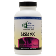 MSM 900 180 capsules by Ortho Molecular