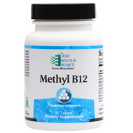 Methyl B12 60 Tablets by Ortho Molecular