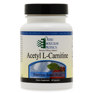 Acetyl L-Carnitine 60 capsules by Ortho Molecular