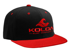 Red & Black / Red Embroidered logo