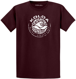 Koloa Surf Circle Wave Logo Lightweight Cotton T-Shirt