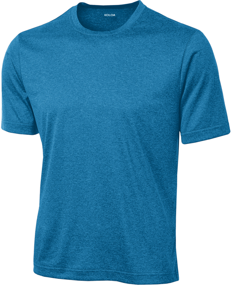 78138cd07c Koloa Surf Short Sleeve Dri-Equip Moisture Wicking Athletic Shirts