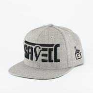 SAVED Ambigram Snapback (sports heather)