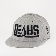 JESUS Ambigram Fitted (Sports Heather)