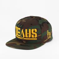 JESUS Ambigram Snapback (Green Camouflage ) Refuge