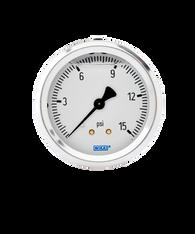 WIKA Type 213.53 Utility Pressure Gauge 0-15 PSI 9797314