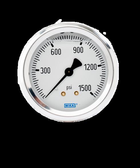 WIKA Type 213.53 Utility Pressure Gauge 0-1500 PSI 9768165