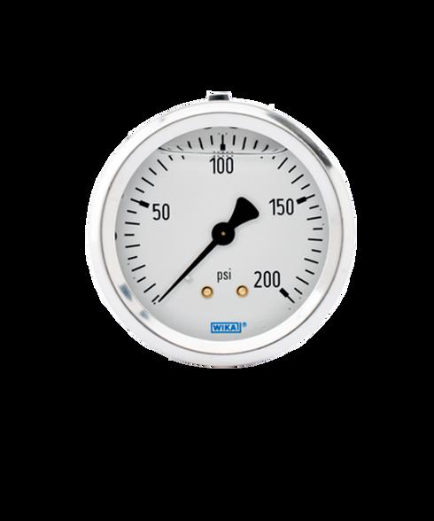 WIKA Type 213.53 Utility Pressure Gauge 0-200 PSI 9767231