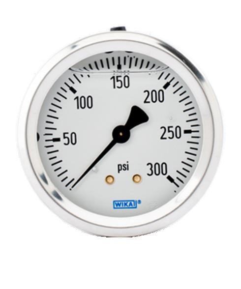 WIKA Type 213.53 Utility Pressure Gauge 0-300 PSI 9767240