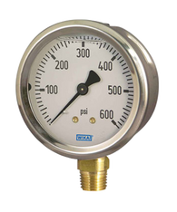 WIKA Type 213.53 Utility Pressure Gauge 0-30 in Hg Vacuum / 160 PSI 50144928