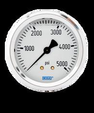 WIKA Type 213.53 Utility Pressure Gauge 0-5000 PSI 9767274