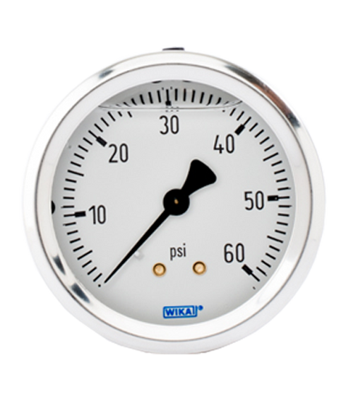 WIKA Type 213.53 Utility Pressure Gauge 0-60 PSI 9767202