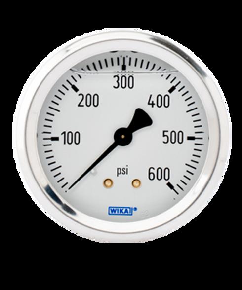 WIKA Type 213.53 Utility Pressure Gauge 0-600 PSI 9768947