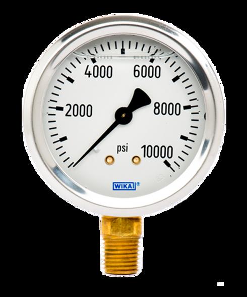 WIKA Type 213.53 Utility Pressure Gauge 0-10000 PSI 9767177