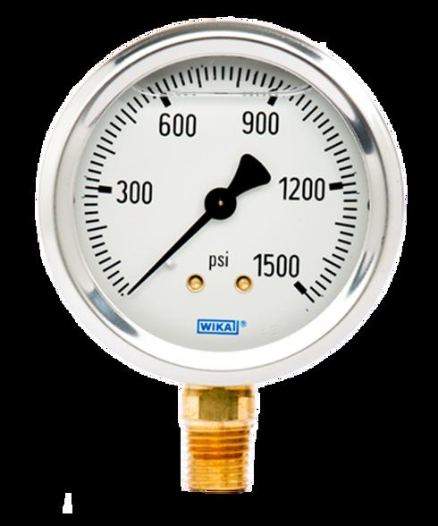 WIKA Type 213.53 Utility Pressure Gauge 0-1500 PSI 9767134