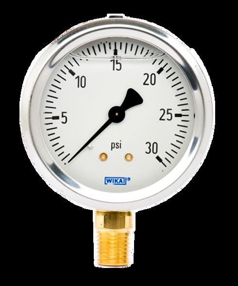 WIKA Type 213.53 Utility Pressure Gauge 0-30 PSI 9767045