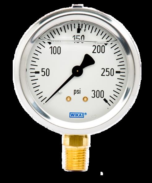 WIKA Type 213.53 Utility Pressure Gauge 0-300 PSI 9767096