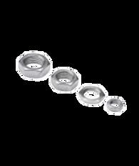 Nickel Plated Steel Jam Nuts AHS16