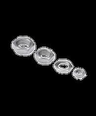 Nickel Plated Brass Jam Nuts AHS7