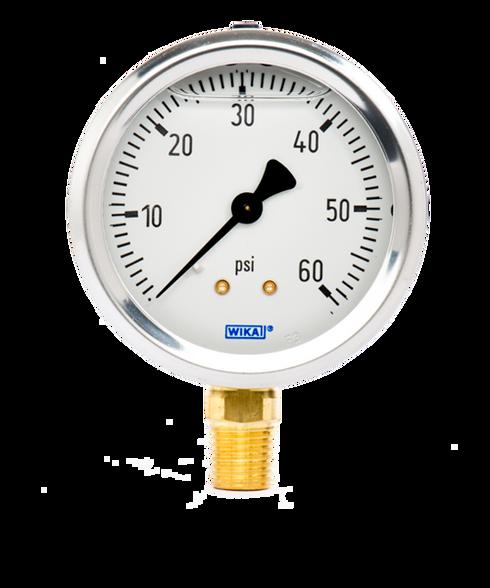 WIKA Type 213.53 Utility Pressure Gauge 0-60 PSI 9767053