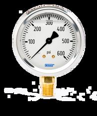 WIKA Type 213.53 Utility Pressure Gauge 0-600 PSI 9767118