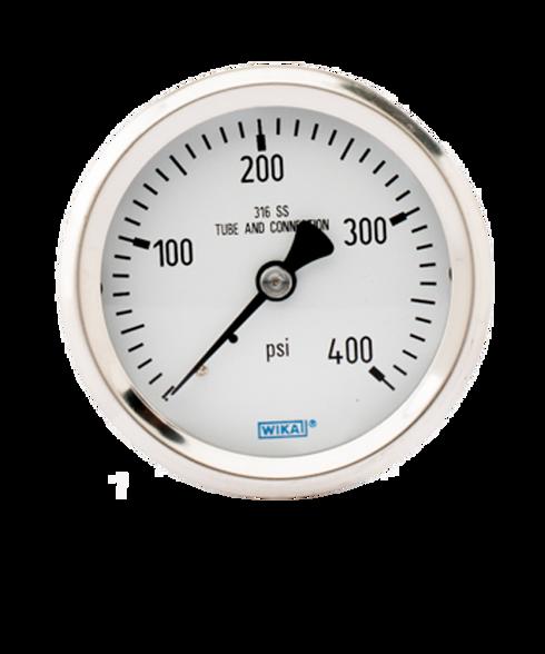 WIKA Type 232.53 Stainless Steel Industrial Gauge 0-400 PSI 9768289