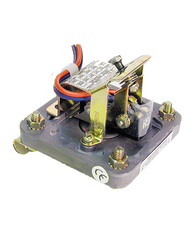 Barksdale Series D1S Diaphragm Pressure Switch, Stripped, Single Setpoint, 0.018 to 1.7 PSI, D1S-GH2SS